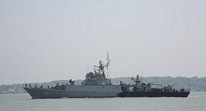 Kapal Perang TNI AL Koarmatim Siap Melaksanakan Latihan Kesiapsiagaan