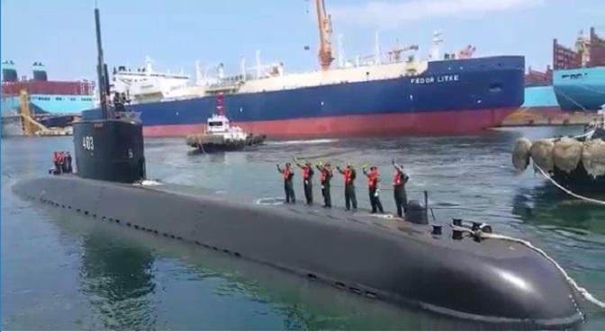 KRI Nagapasa 403 Bergerak dari Korea Menuju Tanah Air (Video)