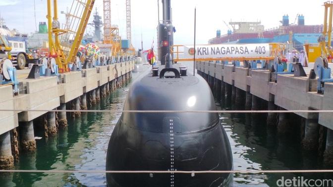 Penyerahan KRI Nagapasa 403 Terlambat Karena Upgrade dan Modifikasi