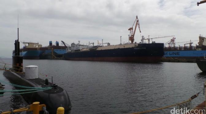 Korea Selatan Siap Memenuhi Kebutuhan Kapal Selam Indonesia