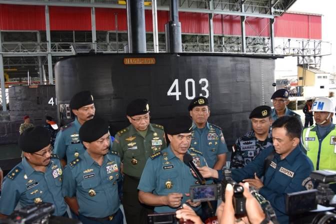 TNI AL Pamerkan Arsenal