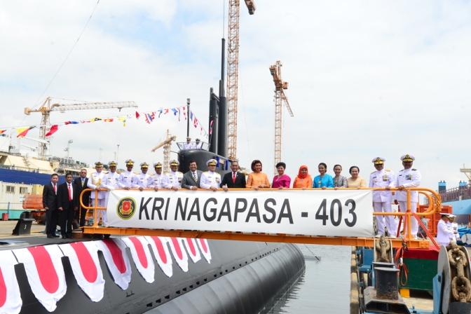 KRI Nagapasa – 403 Diharapkan Mampu Mendukung Terwujudnya Indonesia Sebagai Poros Maritim