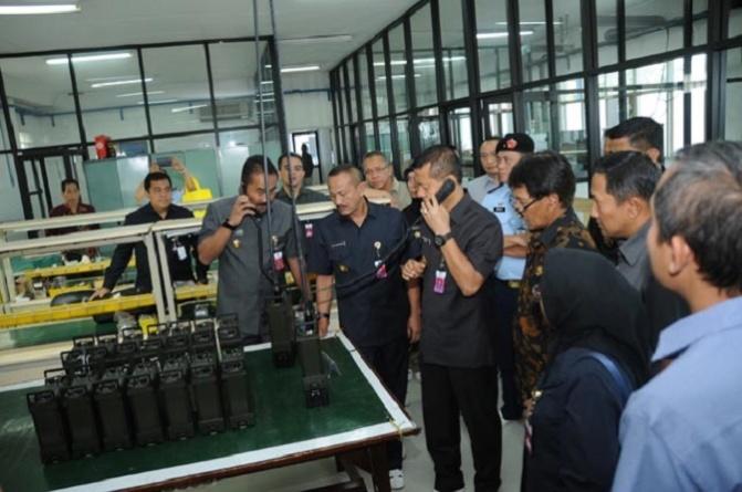 Sekjen Kemhan Melakukan Kunjungan Kerja ke PT CMI