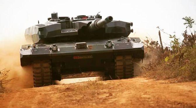 Perlu Jalur KA untuk Angkut Tank Leopard ke Perbatasan