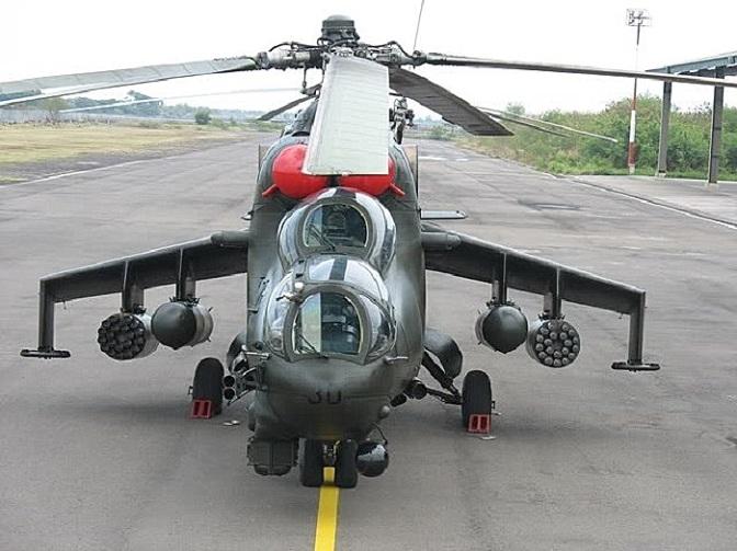 """""""BP"""" Holding Menyelesaikan Perbaikan Dua Mi-35P Indonesia"""