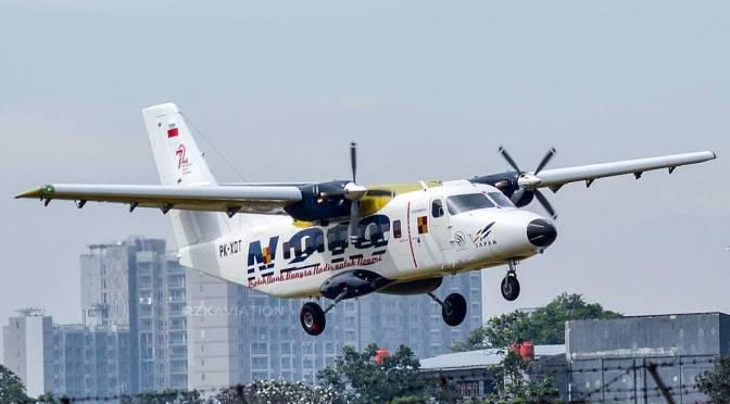 Uji Coba Penerbangan Perdana N219 Berjalan Sukses (Video)