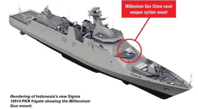 Order CIWS 35mm untuk Fregat Indonesia