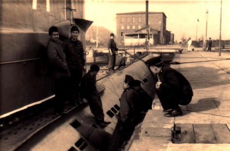 Pendidikan crew kapal selam di polandia 1958 (Dispen ALRI) 1