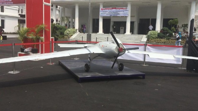 Kecanggihan Drone Rajawali Akan Ditingkatkan