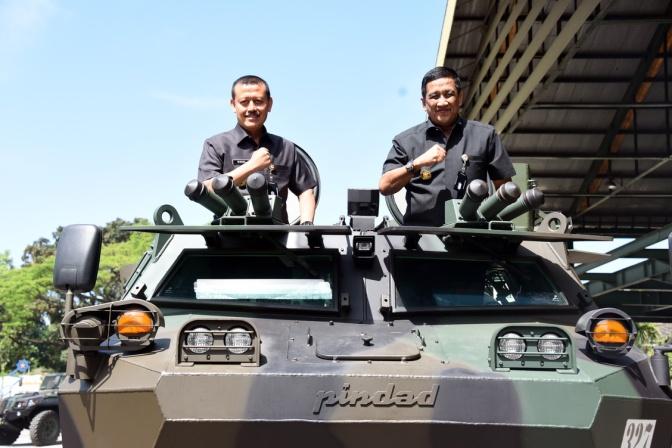 Sekjen Kementerian Pertahanan Kunjungi PT Pindad