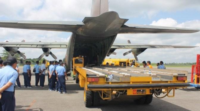 Personel Skadron Udara 51 Kembali ke Home Base