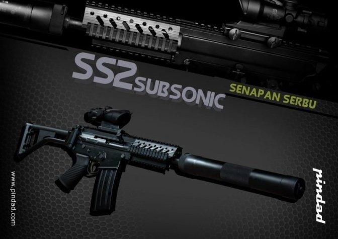 'SS2 V7 Subsonic' PT Pindad Siap Diproduksi Massal