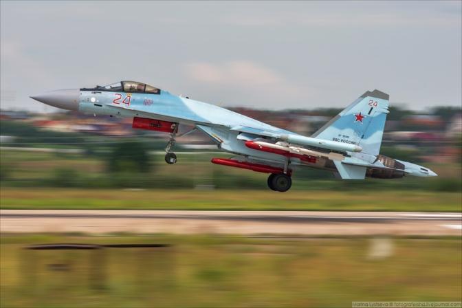 """Su-35 yang Dibeli TNI AU Diharapkan Mempunyai """"Combat Readiness"""" yang Tinggi"""
