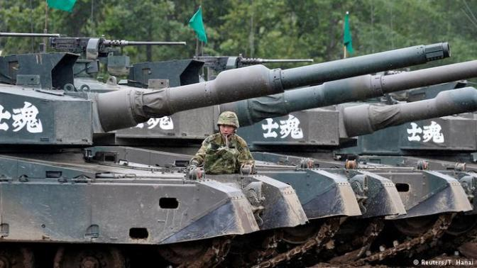 Mengintip Latihan Perang Militer Jepang