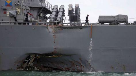 USS JOHN S. McCAIN (Abcnews)