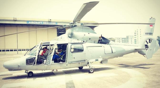 AS565 MBe Panther Akan Meriahkan HUT TNI ke-72