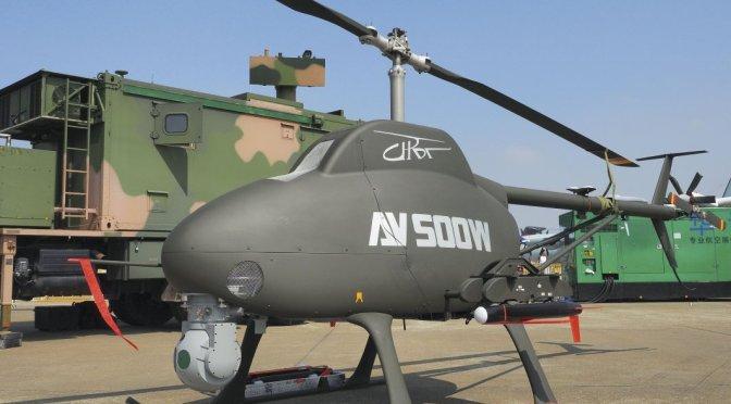 China Mulai Pasarkan Helikopter Tempur Nirawak AV500W