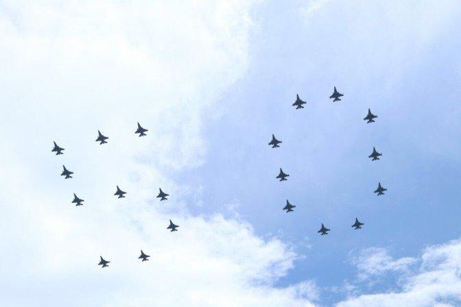 Kasau Onboard F-16 Fighting Falcon (Video)