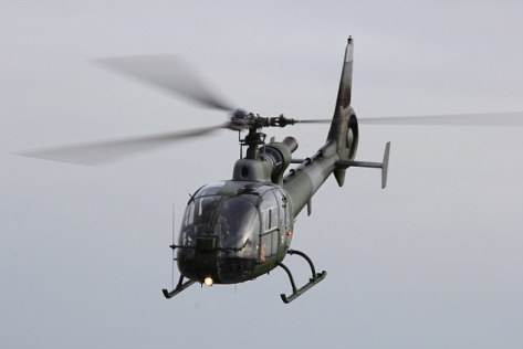 Gazelle helicopter (Daily Mail)