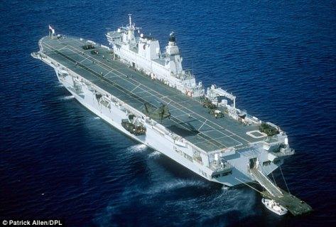 HMS Ocean (Patrick Allen)