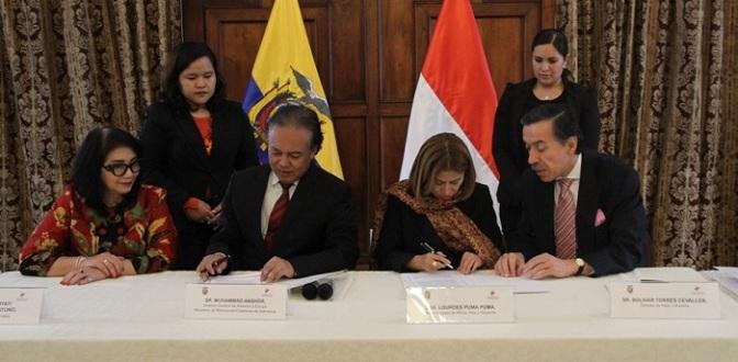 Indonesia dan Ekuador Siap Realisasikan Kesepakatan FKB-SKB