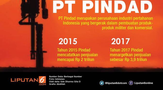 Relokasi Pabrik PT Pindad ke Lampung Merupakan Rencana Jangka Panjang