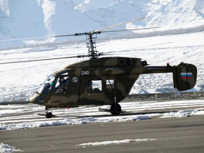 Rusia-Tiongkok Akan Produksi 200 Unit Helikopter
