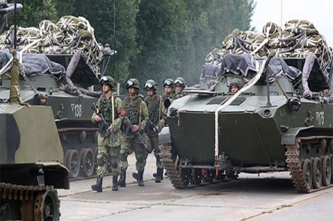 Latihan perang Zapad 2017 berakhir pada Rabu (20092017). (function.mil.ru)