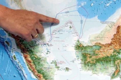 Laut Natuna Utara. (Istimewa)