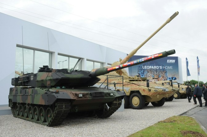 Modernisasi 104 Unit MBT Leopard 2 Jerman