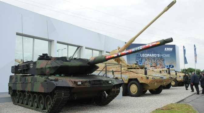 Modernisasi 104 Unit MBT Leopard 2 Jerman