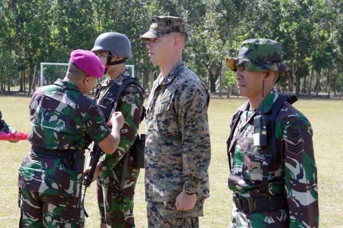 Marinir Indonesia – Amerika Serikat Gelar Latihan Bersama di Situbondo