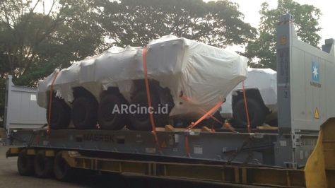 Pandur II 8x8 tiba di PT Pindad (ARC) 1
