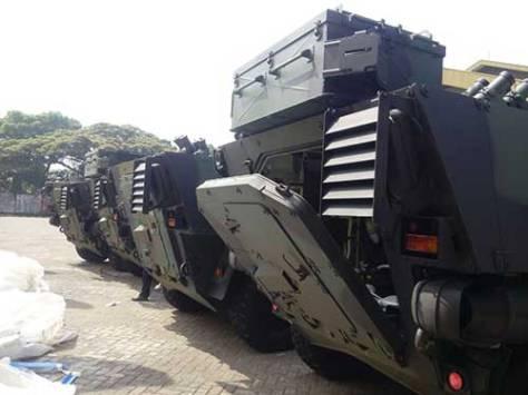 Pandur II 8x8 tiba di PT Pindad (defence.pk)