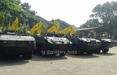 Pandur II 8x8 tiba di PT Pindad (Military Buzz) 1