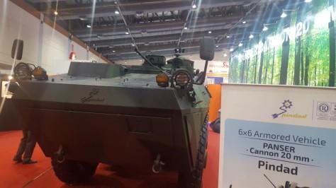 Panser kanon 20 mm PT Pindad (Ijal Lubis) 2