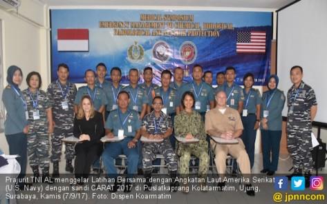 Prajurit TNI AL Terima Pengenalan Senjata Nuklir dalam CARAT 2017