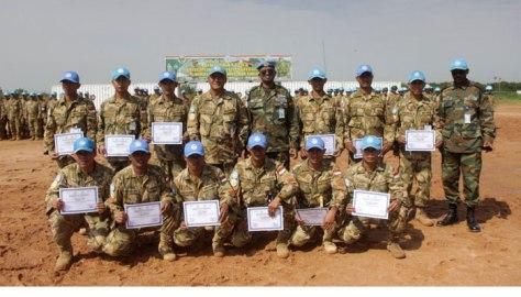 Selamatkan Warga Ethiopia, Satgas Garuda Terima Penghargaan - aksi-5