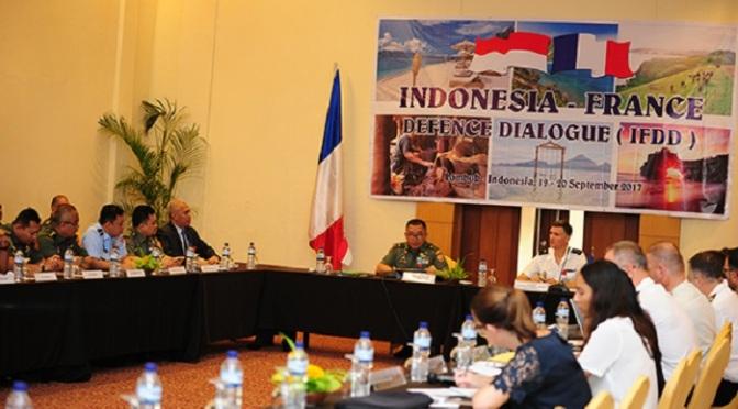 Indonesia – Perancis Adakan Pertemuan Dialog Kerjasama Pertahanan Ke-Lima