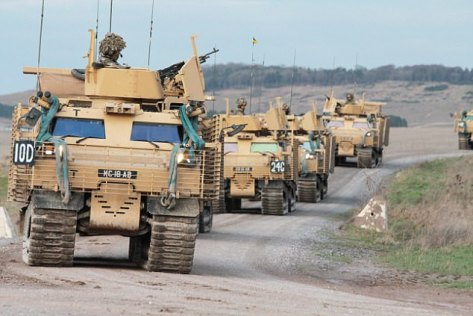 WARHOG all terrain armoured vehicle