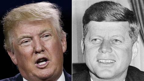 Donald Trump dan John F Kennedy. (Hdnux.com)