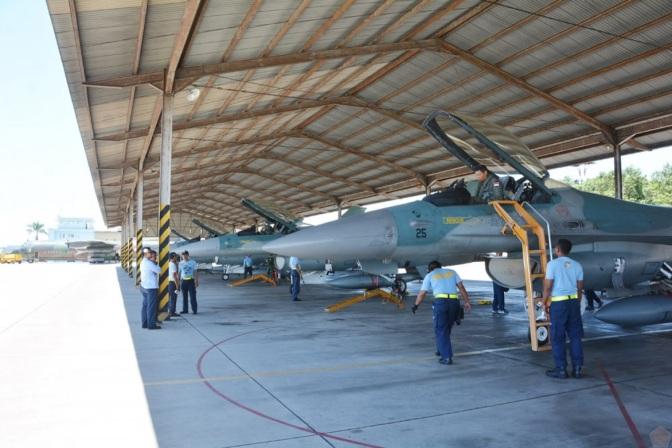Satu Flight F-16 TNI AU Ikuti Latihan AUSINDO 2017