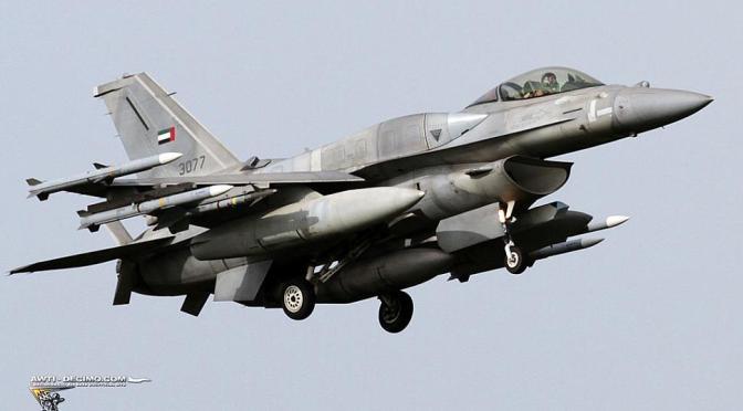 Jet Tempur Uni Emirat Arab Jatuh di Yaman
