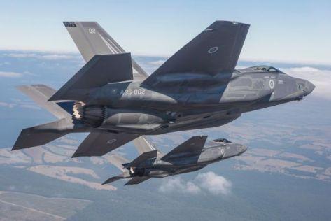 F-35 Australia (AFP)