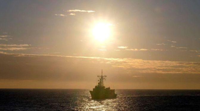 Kapal Perang Australia Berlayar Menuju Semenanjung Korea