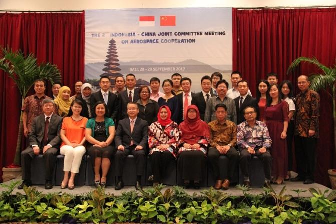 Indonesia-China Bahas Kerja Sama Keantariksaan