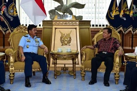 Kasau Terima Kunjungan Tim KKIP (TNI AU)