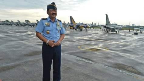 Kepala Staf TNI AU Marsekal TNI Hadi Tjahjanto (Antara)