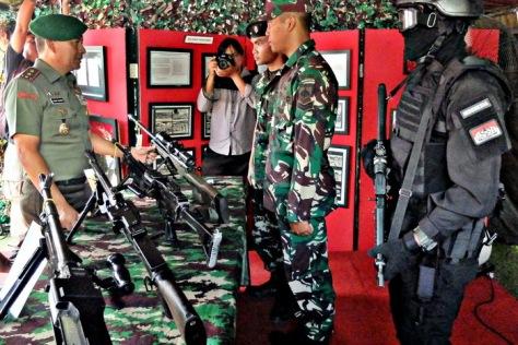 Kodam IV Diponegoro 'Pamer' Alutsista