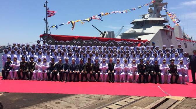 Menhan Resmikan Kapal PKR-2